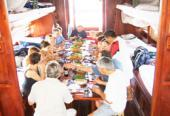 Mekong cruise by Private Mientay sampan 3 days